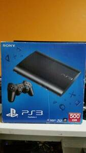 Sony PlayStation 3 Super Slim Black 500 GB Console (G17991) West Ryde Ryde Area Preview