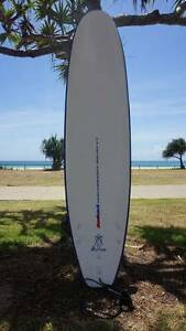 Malibu Surfboard 8' Great for Beginners + Leg Rope Coolangatta Gold Coast South Preview