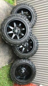Toyota Hilux 4wd multi stud wheels, triton, navara Ranger