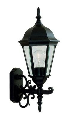 1 L Black  Livex Hamilton Outdoor Wall Sconce Lighting Fixture Sale Lamp -