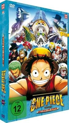 One Piece - 4.Film: Das Dead End Rennen - DVD - NEU