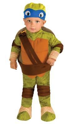 TEENAGE MUTANT NINJA TURTLES LEONARDO Infant/Toddler (Sz 1-2) Costume 6-12 Month