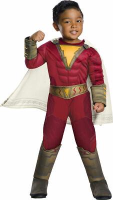Rubies Dc Comics Shazam Deluxe Superheld Film Kleinkind Halloween Kostüm - Shazam Superheld Kostüm