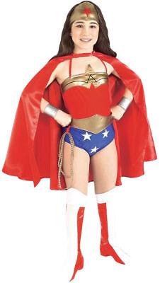 Morris Costumes Girls Wonder Woman Deluxe Complete Costume 4-6. RU882122SM - Marvel Girls Costumes