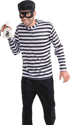 Morris Costume Men's Burglar Robber Criminal Halloween Costume One Size. FM66724](Mens Robber Halloween Costume)