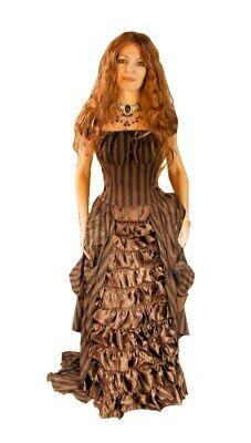 Gothic Burlesque Viktorianisches viktorianisch victorian Kleid Florence - Victorian Burlesque Kostüm