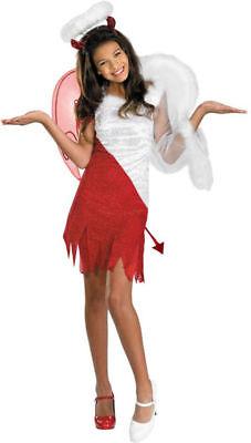 Morris Costumes Girls Heavenly Fairies Angels Devil Child Costume 14-16. DG8456J - Heavenly Devil Costume