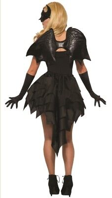 Black Bat Wings Adult Halloween Costume Accessory Dark Angel Demon Vampire - Halloween Costume Demon Wings