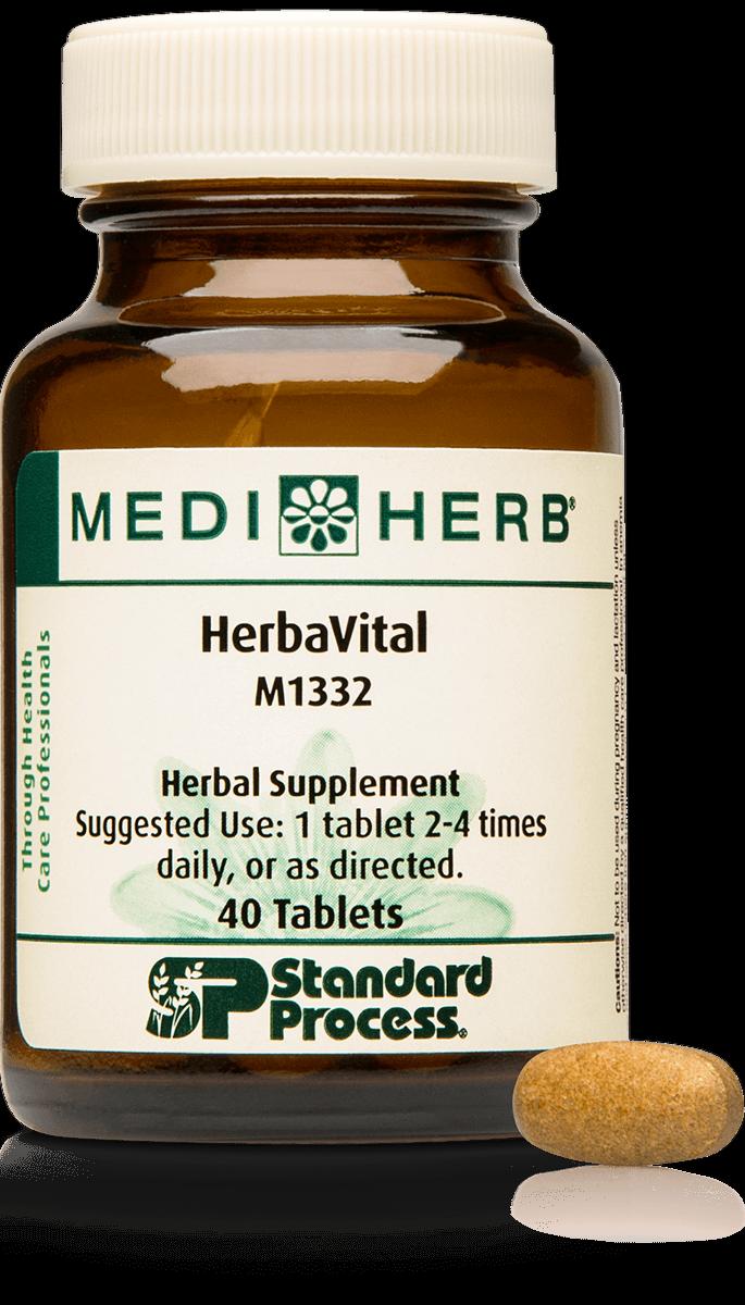 Standard Process HerbaVital M1332 40 tablets