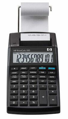 HP-Print Calc 100 - druckender Tischrechner 12-stelliges LCD mit Papierrolle