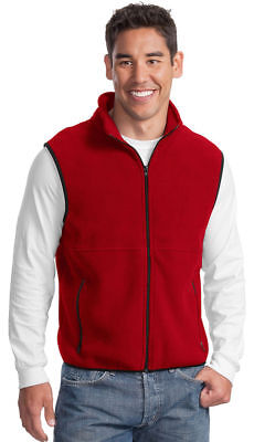 Port Authority Men's Polyester Trimmed Zipper Pocket Fleece