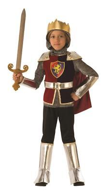 Medieval Knight Costume Kids (Child Roman Medieval Knight King Costume Size)