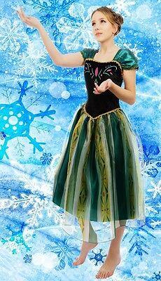Erwachsene Damen Eiskönigin Königin Anna Kostüm Cosplay Party - Anna Kostüm Erwachsene