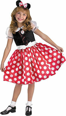 Minnie Mouse Costume for Toddler & Girls Classic by Disguise New 5036
