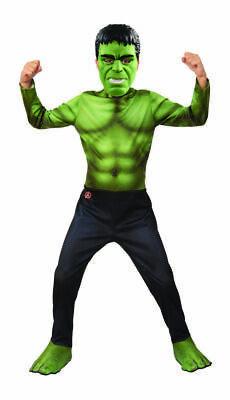 Rubies Marvel Avengers Endspiel Film Hulk Kinder Halloween Kostüm (Hulk Halloween Kostüm)