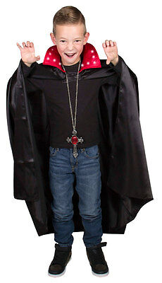 Vampir - Dracula Umhang für Kinder mit Beleuchtung Halloween!!