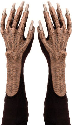 Morris Costumes Latex Monsters Gloves One Size. 1001BSG