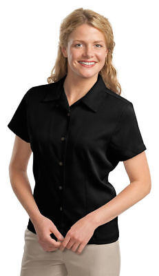 Port Authority New Ladies Easy Care Camp Shirt Button Up XS-4XL. L535