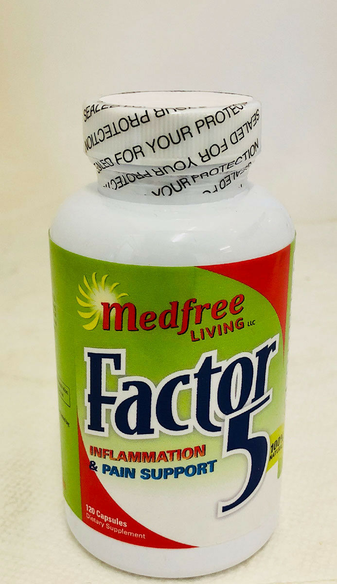 Factor 5 Inflammation and Pain Relief - 120 Capsules