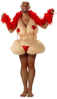 Kostüm Stripperin Fatgirl Fatsuit Männerballett Bikini Junggesellenabschied (Männer Kostüme)