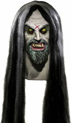 Morris Costume New X Etched Halloween Corpse Maker Full Head Latex Mask. - Halloween Costume Maker