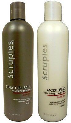 Scruples Moisture Bath Shampoo 12oz and Moisturex Treatment 8.5oz -