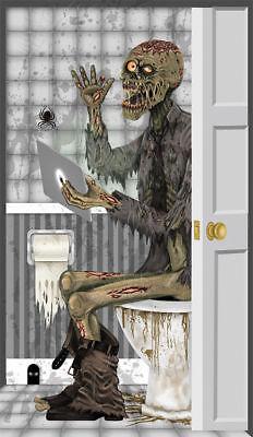 Morris Costume Funny Zombie Wall Walking Dead Prop Decoration Toilet Door Cover
