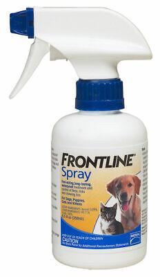 Frontline Spray Treatment for Dogs Cats Pets Kills Fleas Ticks Waterproof 250 -