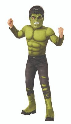 Rubies Marvel Avengers 4 Endspiel Hulk Deluxe Kinder Halloween Kostüm - Marvel Hulk Deluxe Kind Kostüm
