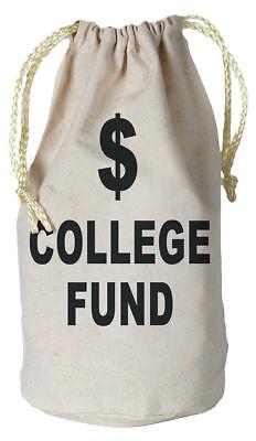 Morris Costumes Party Supplies Graduation College Fund Money Bag. BG54119](College Party Supplies)