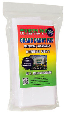 Green Pad Co2 Generator Grand Daddy Pad, 2 Pack Co2 MAXIMIZER YIELD BOOST!