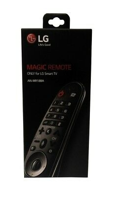 NEW IN BOX NIB SEALED LG MAGIC REMOTE CONTROL AN-MR18BA AI THINQ SMART TVS 2018