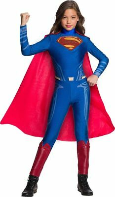 Girls Justice League Superman Costume Size Large 12-14](Justice League Costumes For Girls)