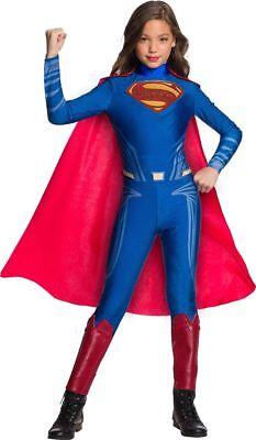 Girls Justice League Superman Costume Size Large 12-14 - Justice League Costumes For Girls