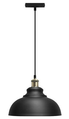 Vintage Industrial Metal Ceiling Pendant Shade Modern Hanging Retro Light M0081