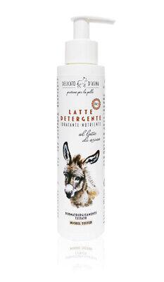 Latte Detergente Latte d'Asina Viso Idratante Nutriente 200ml