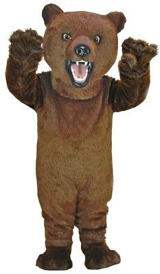 Fierce Grizzly Bear Professional Quality Mascot Costume Adult - Grizzly Bear Costumes