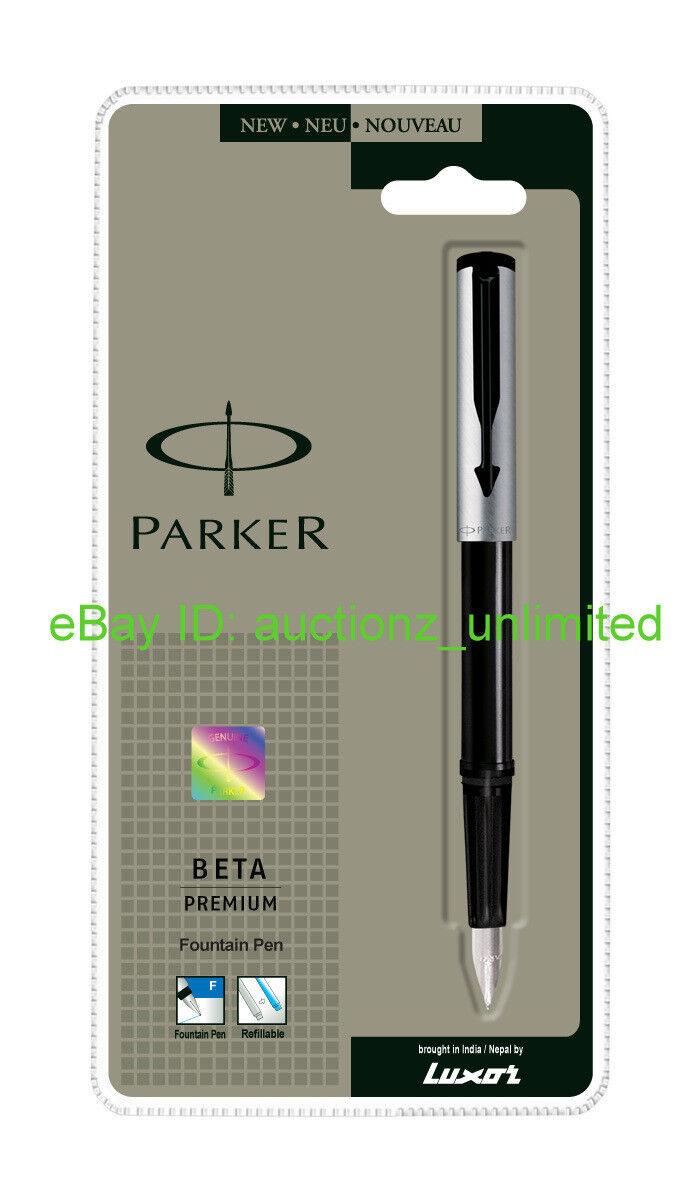 Неповторимая красота снежинки или Parker Beta Premium. Коротко и по существу.