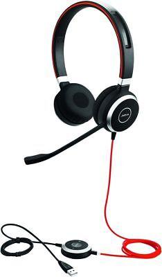 Jabra Evolve 40 UC monaural USB NC Headset NEU!!! - Nc Monaural Headset