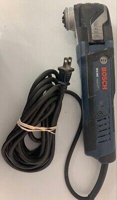 Bosch 3 Amp Corded Multi-x Variable Speed Oscillating Tool Kit Roc022136