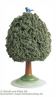 Wendt & Kühn Laubbaum grün mit Baumvogel für Blumenkinder 5302/6+7 1068+1069