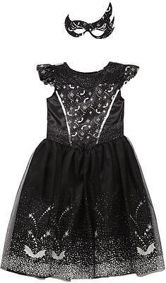 HALLOWEEN BLACK SWAN DRESS-UP COSTUME 2-14 YEARS (Black Swan Dress Up Halloween)