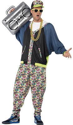 80er Jahre Hip Hop Kostüm NEU - Herren - Neue Hip Hop Kostüme