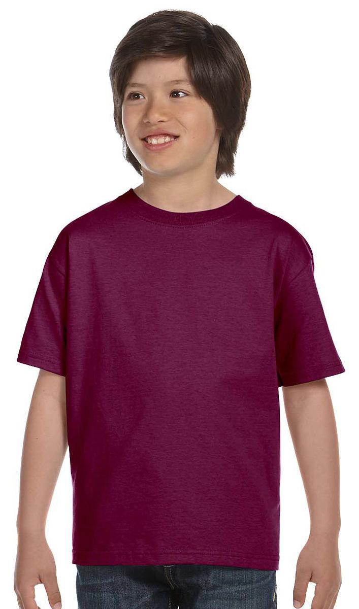 Port /& Company Boys 100/% Cotton Short Sleeve Crew Neck T-Shirt PC61Y