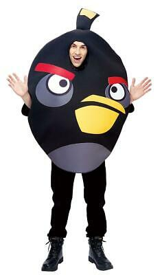Angry Birds Black Bird Adult Costume One Size - Angry Birds Halloween Kostüme