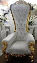 Royal Throne Chair Hire Queensland Griffin Pine Rivers Area Preview