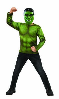 Rubies Marvel Avengers Endgame Hulk Childs Top Mask Halloween Costume 700722](Halloween Hulk Costumes)
