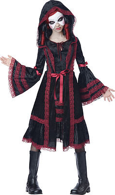 Costumes For Girl Tweens (Gothic Doll Costume for Girls/Tweens size 12-14 by Ca. Costumes)
