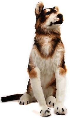Hank the Husky | 3 Foot Tall Stuffed Animal Plush Giant Snow Dog (Giant Plush Dog)