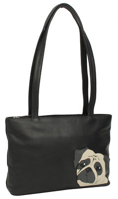 Gusti Leder 'Georgia' Shopper Handtasche Tragetasche Damentasche Ledertasche NEU Tasche Georgia